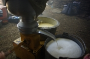 Making butter