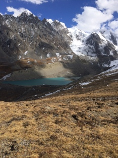 Glacial Lake at Gongka