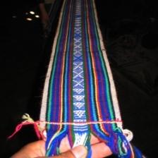 Handwoven belt
